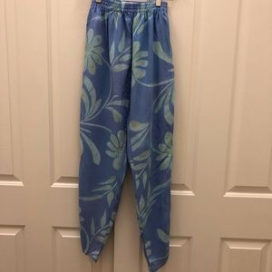 KEY LIME PIE Hippie Chic Joggers with pockets